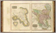 Attica. Turkish dominions in Europe. E. Mitchell sculpt. Drawn and engraved for Thomson's New general atlas, 1815.