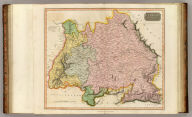 Germany south of the Mayne. Neele sc., London. Drawn & engraved for Thomson's New general atlas, 1816.