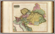 Austrian Dominions. Neele, sculp., 352, Strand. Drawn & engraved for Thomson's New general atlas, 1816.