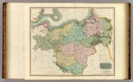 Prussian Dominions. Engd. by W. Dassauville. (Drawn & engraved for Thomson's New general atlas, 1817)