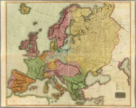 (Composite of) Europe after the Congress of Vienna. Neele sculpt., 352 Strand, London. Drawn & engraved for Thomson's New general atlas, 1816.