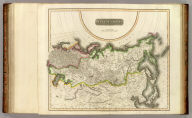 Russian Empire. N.R. Hewitt Sc., 10 Broad Str., Bloomsby., London. Drawn & engraved for John Thomson & Co.'s New general atlas, 12 August 1814.