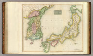 Corea and Japan. J. & G. Menzies sculpt., Edinr. Drawn & engraved for Thomson's New general atlas, 16th. Augt. 1815.