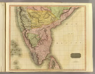 Southern Hindostan. Neele sculpt. Drawn & engraved for Thomson's New general atlas, 1816.