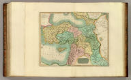 Turkey in Asia. Engd. by W. Dassauville. (Drawn & engraved for Thomson's New general atlas, 1817)