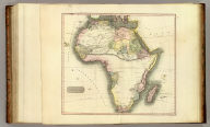 Africa. J. & G. Menzies sculpt. (Drawn & engraved for Thomson's New general atlas, 1813?)