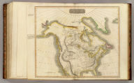 North America. N.R. Hewitt sc., 10 Broad Str., Bloomsby., London. Drawn and engraved for Thomson's New general atlas, 1814.