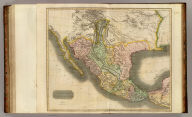 Spanish North America. Drawn and engraved for Thomson's New general atlas, 1814.