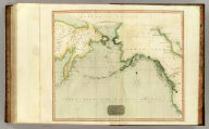 Chart of the Northern Passage between Asia & America. Neele sculp., 352 Strand. Drawn & engraved for Thomson's New general atlas, 1816.