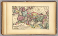 Map of the Roman Empire at the period of its greatest extent. About the year A.D. 107. Engraved to illustrate Mitchell's ancient geography. (with) Map of Britannia Romanorum of Roman Britain. (with) Map of northern and central Syria. Drawn & engraved by J.H. Young. Entered according to Act of Congress in the year 1844 by S. Augustus Mitchell in the ... District Court of the eastern district of Pennsylvania. (1873)