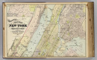 Watson's new map of New-York and adjacent cities. Published by Gaylord Watson, 278 Pearl Street, New York. 1891.
