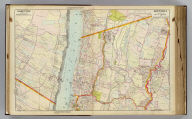 Portion of Bergen County, N.J. Portion of city of Yonkers and Westchester County. Copyrighted, 1891, by Watson & Co.