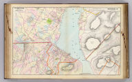 Portion of Orange County. Portion of Dutchess & Putnam County. Copyrighted, 1891, by Watson & Co.
