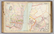Portion of Orange County. Portion of Dutchess County. Copyrighted, 1891, by Watson & Co.