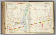 Portion of Albany and Greene County. Portion of Rensselaer and Columbia County. Copyrighted, 1891, by Watson & Co.