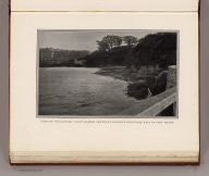 View of the natural yacht harbor, skirted by proposed boulevard, east of Fort Mason. (By Daniel H. Burnham. Assisted by Edward H. Bennett. 1905)