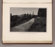 View of driveway through Glen Canyon. (By Daniel H. Burnham. Assisted by Edward H. Bennett. 1905)