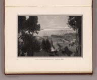 View from Telegraph Hill, looking east. (By Daniel H. Burnham. Assisted by Edward H. Bennett. 1905)