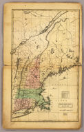 New England States. Entered ... 12th day of August 1830 by H. & F.J. Huntington ... Connecticut.