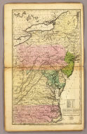 The Middle States, Maryland & Virginia. Entered ... 12th day of August 1830 by H. & F.J. Huntington ... Connecticut.