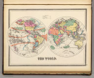 The world. (by H.H. Lloyd. Published by Stedman, Brown & Lyon, Baltimore. 1873)