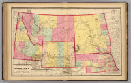 Atlas of the United States. Nebraska, and the territories of Dakota, Idaho, Montana and Wyoming. (by H.H. Lloyd. Published by Stedman, Brown & Lyon, Baltimore. 1873)