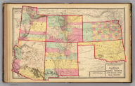 Atlas of the United States. Kansas, and the territories of Arizona, Colorado, New Mexico, Utah, and Indian Territory. (by H.H. Lloyd. Published by Stedman, Brown & Lyon, Baltimore. 1873)