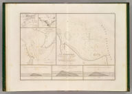 Plan hydrographique de la partie de la Baie de la Delaware qui avoisine le breakwater ou port artificiel que l'on y a construit. (with) Plan general de la Baie de la Delaware et de la position occupee par le port artificiel construir a son embouchure. (with) Plan general de la Baie et du breakwater de Plymouth. (with) Plan general de la rade et de la Baie de Cherbourg. (with) Section transversale du breakwater ou jetee de Plymouth. (with) Section transversale de la Digue de Cherbourg et profil de l'enrochment de 1784. (with) Section transversale du breakwater ou jetee de la Delaware. Dessine par le Major Poussin. Grave par (V.?) Adam. (1834)