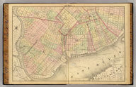 Section 1 (Farm line map of the city of Brooklyn. Compiled and drawn by Henry Fulton. 1874)
