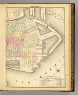 Section 3 (Farm line map of the city of Brooklyn. Compiled and drawn by Henry Fulton. 1874)