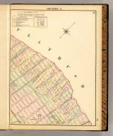 Section 8 (Farm line map of the city of Brooklyn. Compiled and drawn by Henry Fulton. 1874)