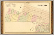 Section 9. East New York. (Farm line map of the city of Brooklyn. Compiled and drawn by Henry Fulton. 1874)