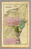 Middle States. Entered according to act of Congress. (1837)