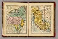 Middle States. Southern States. G. Boynton Sc. Entered ... by S.G. Goodrich of Massachusetts. (Boston: Gray & Bowen ... 1831)
