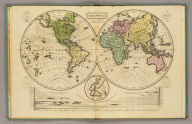 The World. (with) Comparative view of rivers & lakes ... Entered ... 28th day of Septr. 1821, by William C. Woodbridge ... Conn(ecticu)t. (1837?)