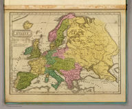 Geographical & statistical map of Europe, adapted to Woodbridge's Geography. Entered ... 1831, by William C. Woodbridge ... Connecticut. (1837?)
