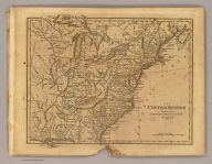 The United States. Published by Cummings & Hilliard, No. 1, Cornhill, Boston. H. Morse Sc. (1821?)