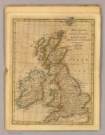 Britain or the United Kingdom of England, Scotland and Ireland. Published by Cummings & Hilliard, No. 1, Cornhill, Boston. H. Morse Sc. (1821?)