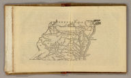 (Map of Virginia, Maryland and Delaware. Raleigh: Branson, Farrar & Co., Publishers. Biblical Recorder Print. 1863)