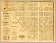 (Business map of San Francisco). Issued by Post Publishing Company, publishers of the Daily and Weekly Post, San Francisco, Cal. (1886?)