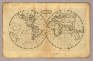 The World. Published by Hilliard, Gray, Little & Wilkins, Boston. H. Morse Sc. (1829)