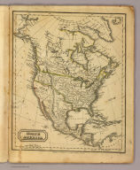 North America. Published by Hilliard, Gray, Little & Wilkins, Boston. H. Morse Sc. (1829)
