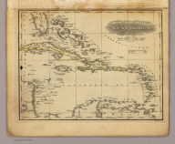 West Indies. Published by Hilliard, Gray, Little & Wilkins, Boston. H. Morse Sc. (1829)