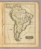 South America. Published by Hilliard, Gray, Little & Wilkins, Boston. H. Morse Sc. (1829)