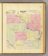 Valley County ... drawn by J.R. Kiser of Valley County, Neb. ... (Philadelphia, Everts & Kirk, 1885)