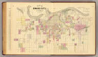 Map of Omaha City and environs. Compiled & drawn by Adin Mann, Civil Engineer. Assisted by Geo. Smith, Co. Surveyor of Douglas Co. (Philadelphia, Everts & Kirk, 1885)