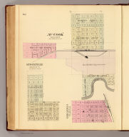 McCook, Red Willow Co. (with) Stockville, Frontier Co. (with) Indianola, Red Willow Co. (Philadelphia, Everts & Kirk, 1885)