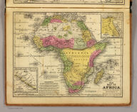Map of Africa. Engraved to illustrate Mitchell's school and family geography. (with) Map of Egypt. (with) Map of Liberia. Engraved by J.H. Young. Entered ... 1839 by S. Augustus Mitchell ... Connecticut.