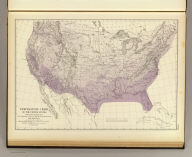 Temperature chart of the United States. Showing the distribution by isothermal lines of the mean temperature for the year. Constructed under the direction of Prof. Joseph Henry, Sec'y. Smithsonian Institution by Chas. A. Schott, Asst., U.S. Coast Survey in October, 1872. (Julius Bien, Lith., 1874)
