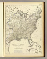 Map showing the illiteracy of the aggregate population. Compiled from the returns of population at the ninth census of the United States 1870. By Francis A. Walker. (Julius Bien, Lith., 1874)
